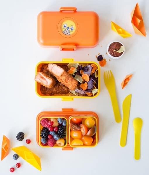 Monbento MB Tresor og MB Pocket Color madkasse og børnebestik