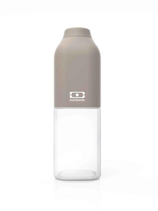 Drikkedunk til børn og voksne. Vandflaske med skruelåg og uden BPA. Monbento MB Positive 50 cl (grå)