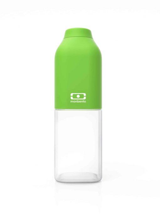 Drikkedunk til børn og voksne. Vandflaske med skruelåg og uden BPA. Monbento MB Positive 50 cl (grøn)