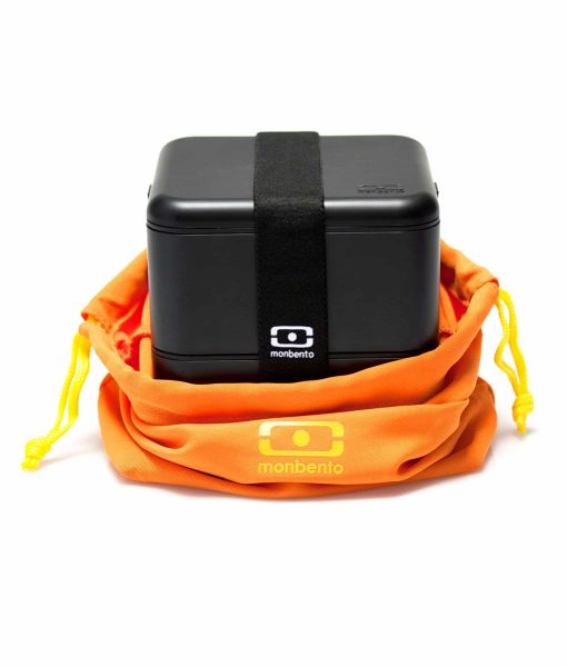 MB Pochette orange med Square_