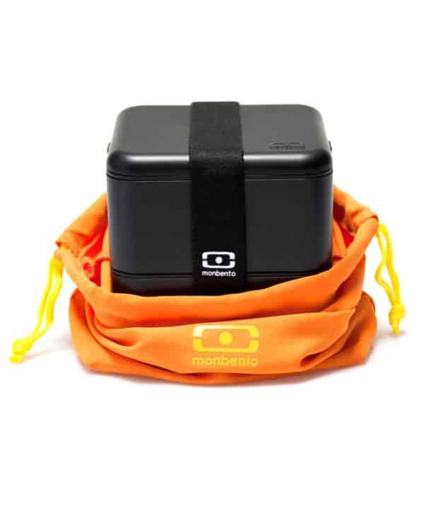 MB Pochette orange med Square_