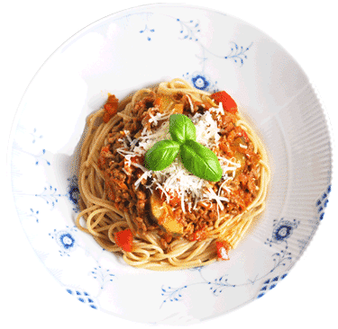 Mambenos spaghetti bolognese