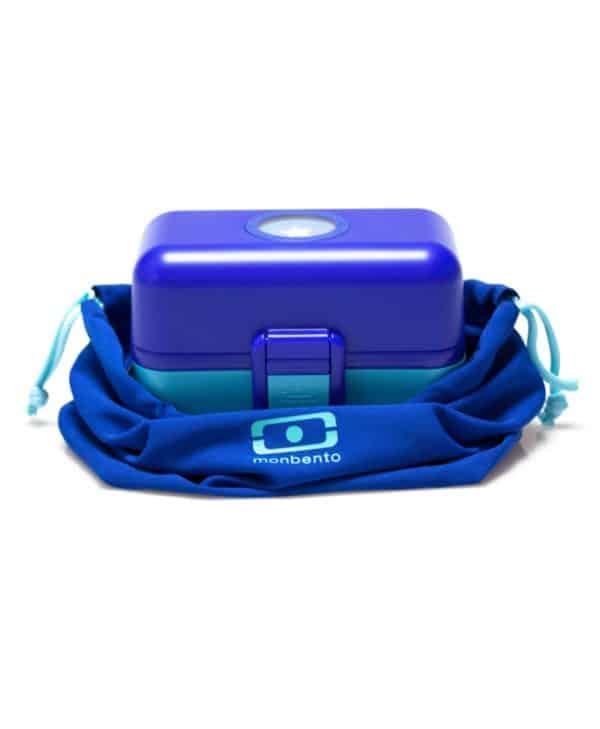 MB Pochette blå med Tresor