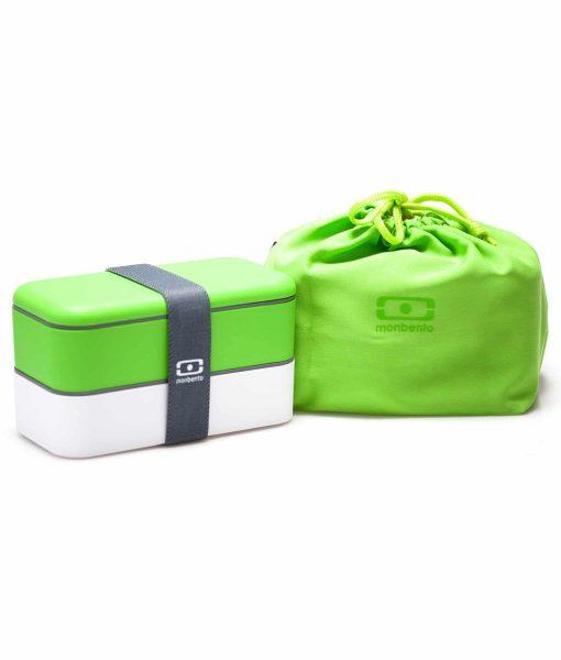 MB Pochette grøn med Original