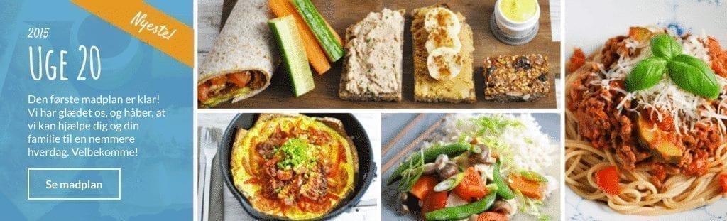 Uge 20 - Den første madplan fra Mambeno