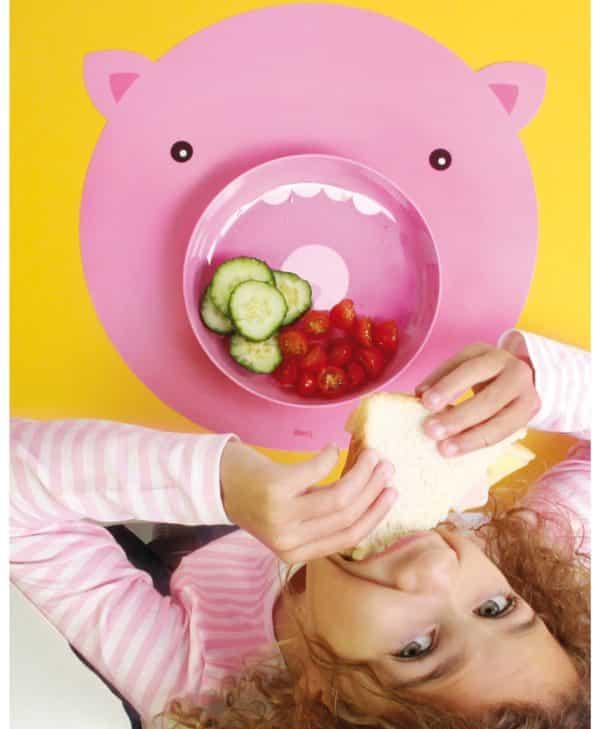 DOIY Hungry Mats tallerken gris