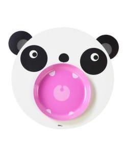 DOIY Hungry Mats tallerken - panda