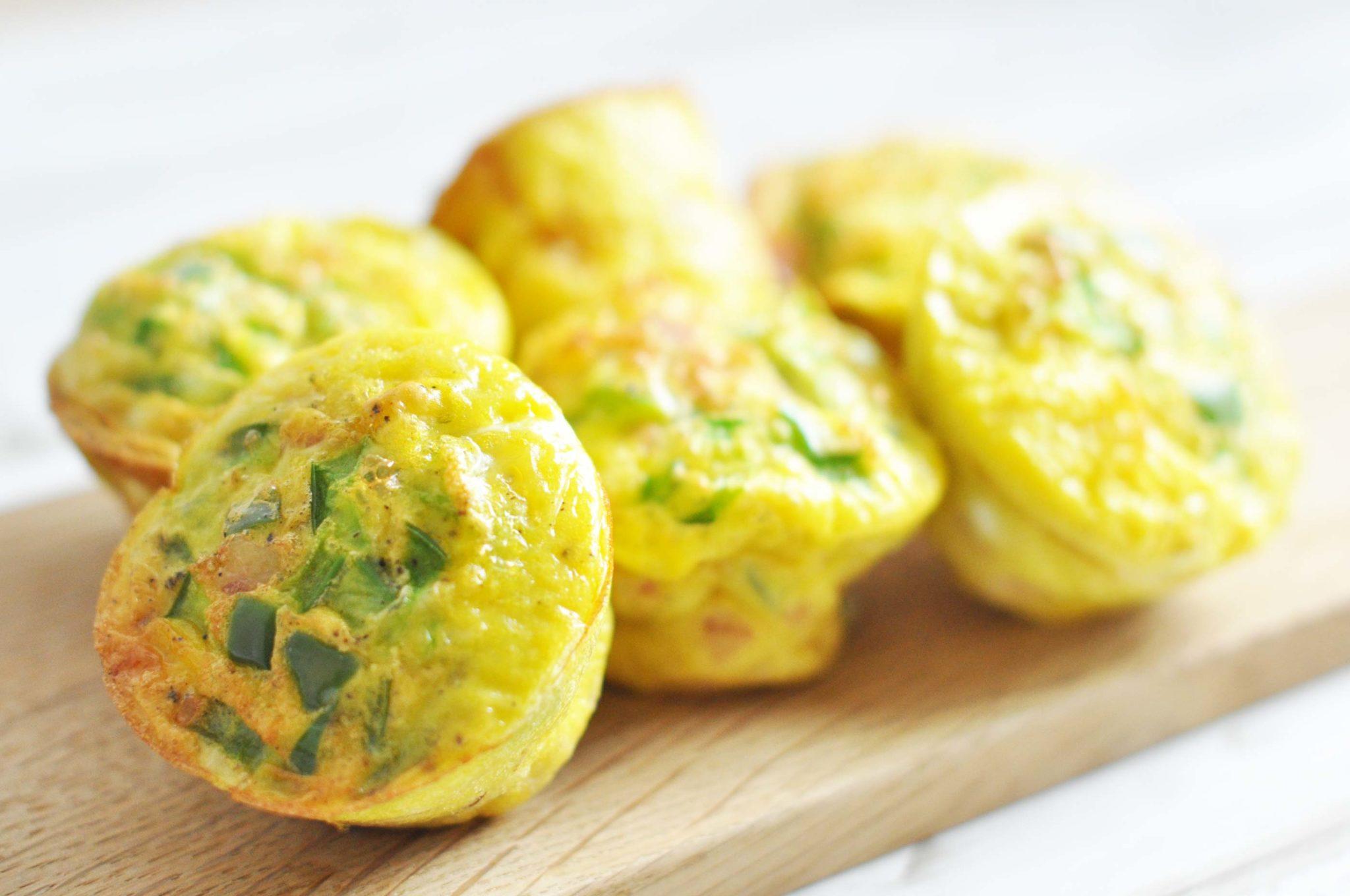 Lækre æggemuffins Til Madpakken