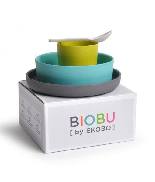 Spisesæt til børn fra BIOBU