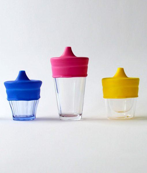 SipSnap TOT spildfrit låg til kopper