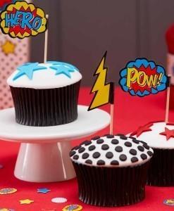 Kagepynt-til-drengefoedselsdag-superhero