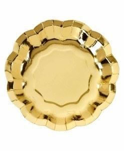 Tallerkener-til-foedselsdag-guld