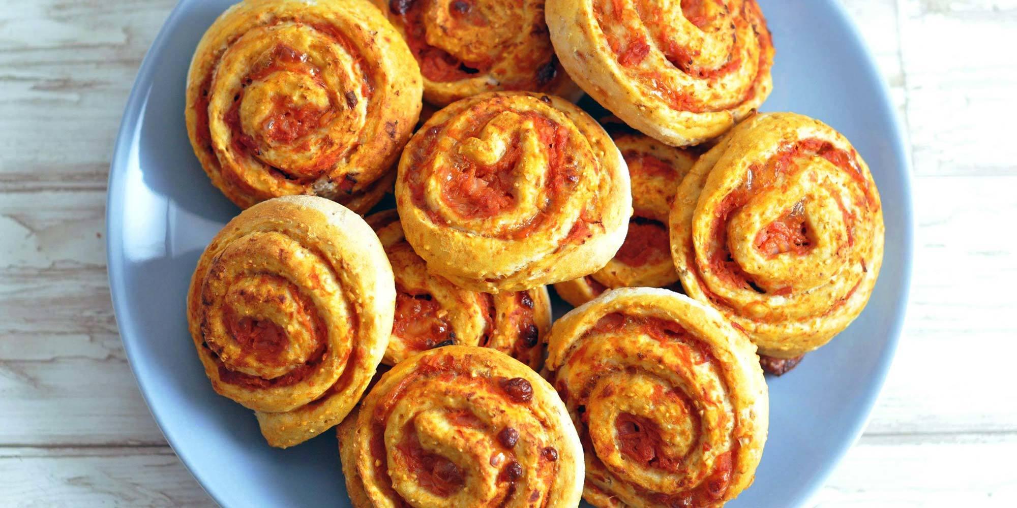 Mambenos pizzasnegle med fuldkorn