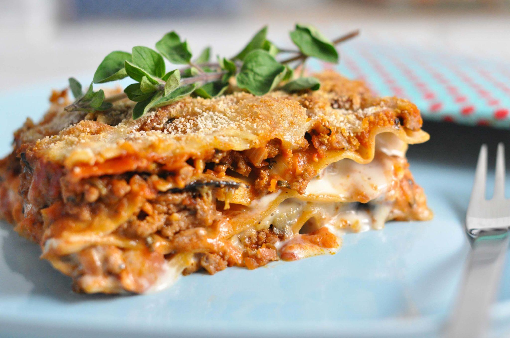 lækker lasagne opskrift