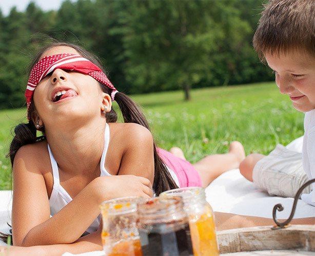 Blindsmagning til børnefødselsdagen