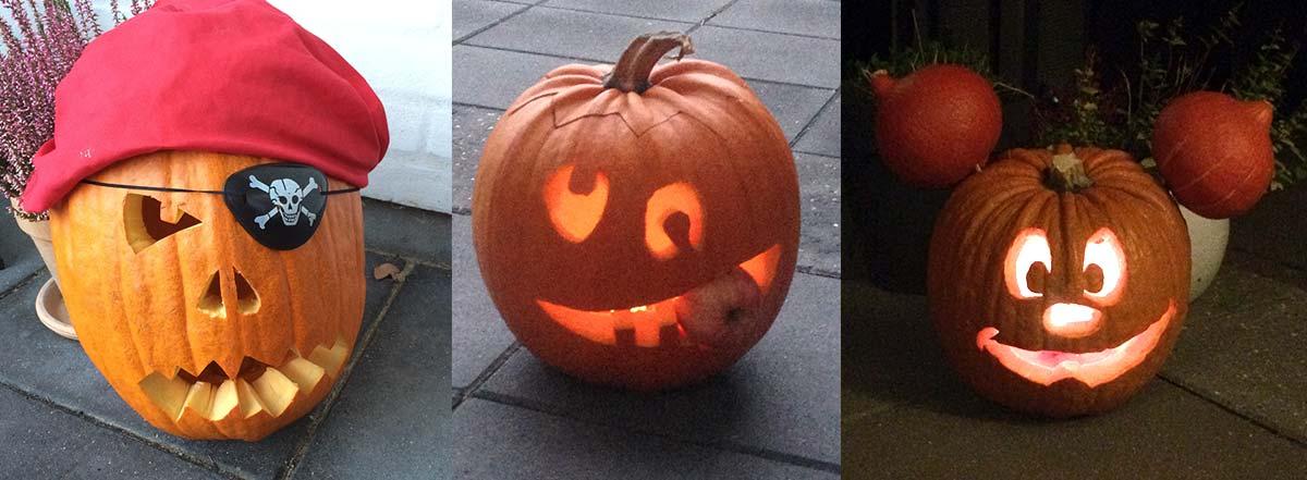 graeskar til halloween