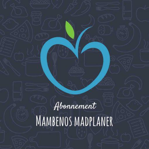 Abonnement på Mambenos madplaner