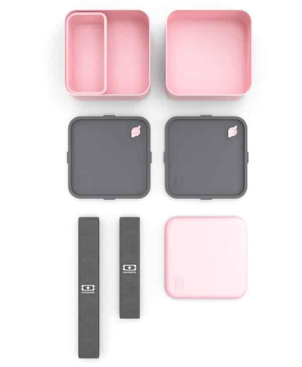 Monbento-MB-Square-madkasse-i-rosa-med-masser-af-plads