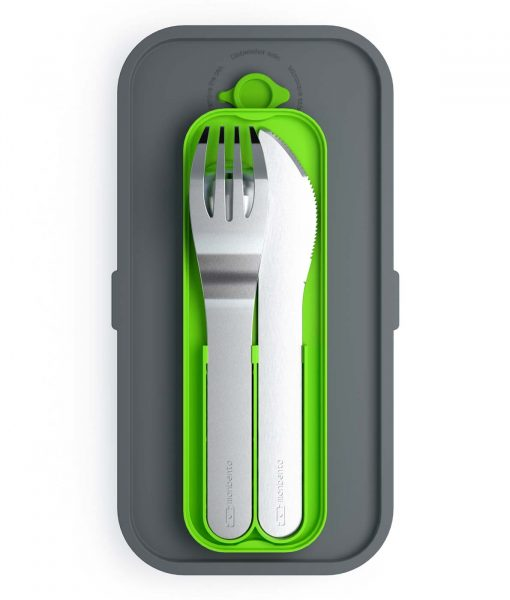 Monbento-MB-Pocket-bestik-i-groen-boks-passer-i-madkassen