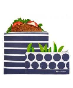 Smarte-genanvendelige-poser-til-madpakken-i-navy-stripes