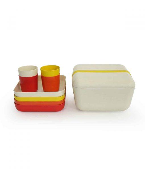 BIOBU-flot-picnicsaet-med-kopper-tallerkener-og-skaal
