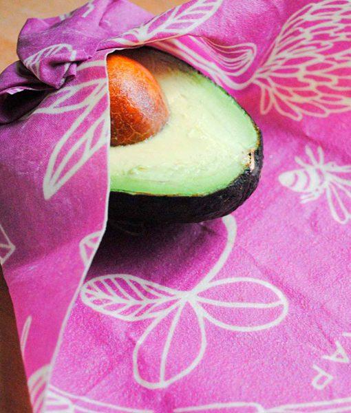 Bees wrap er perfekt til indpakning af avocado