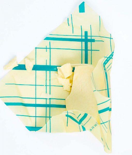 Bees wrap genbrugelig indpakning af feks smør