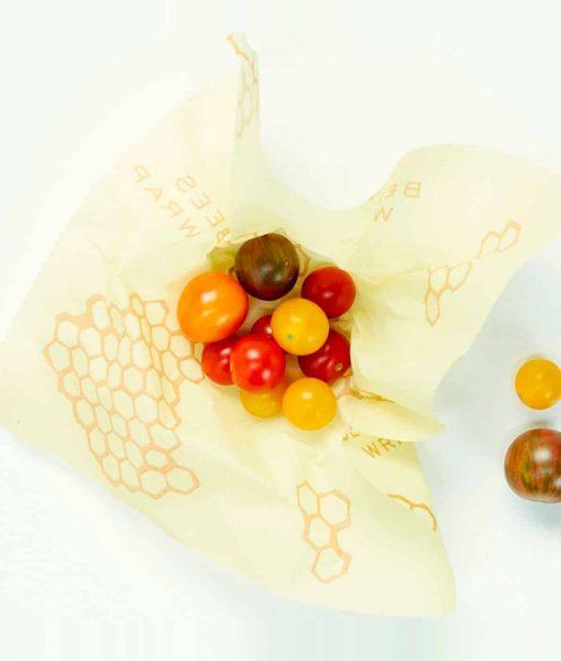Bees wrap genbrugelig madindpakning perfekt til grøntsager