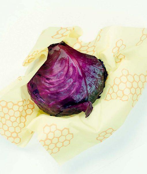 Bees wrap i stor er perfekt til salat kål og større madvarer