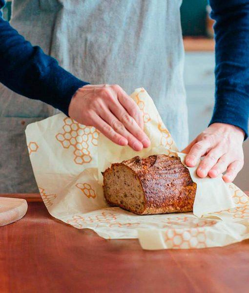 Bees wrap madindpakning er perfekt til brød