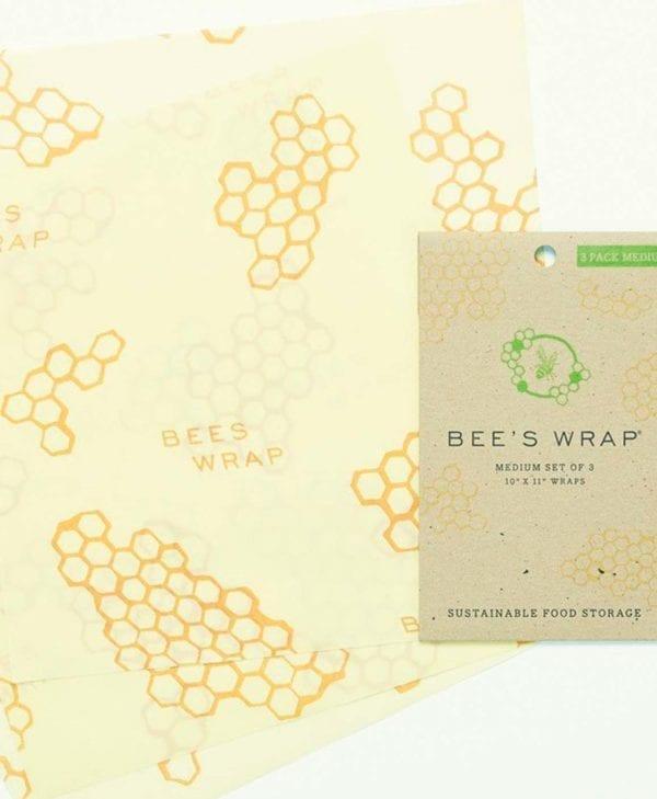 Bees wrap tre stykker i mellem størrelse