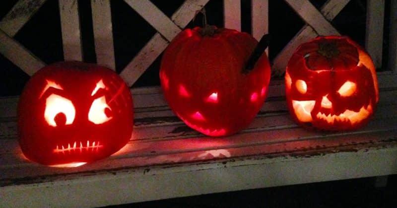 Skær Halloween-græskar