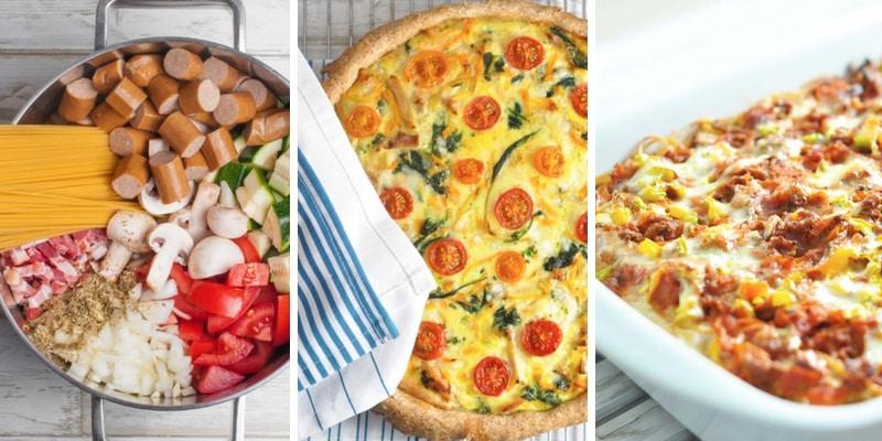 Nem aftensmad - de tre mest populære retter i februar
