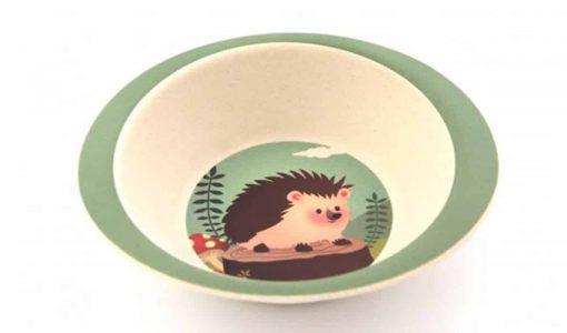 YUUNAA skål i bambus med pindsvin