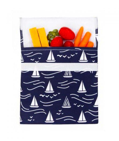 Stor frugt og snackpose med plads til mellemmåltidet