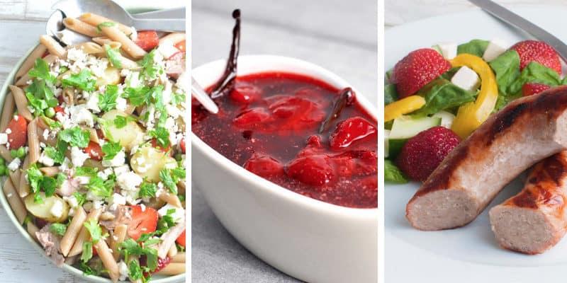 De bedste opskrifter med jordbær