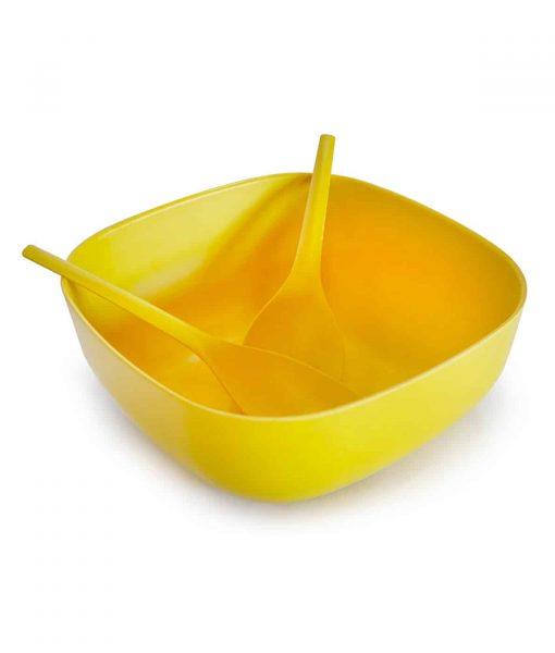 BIOBU salatskål og salatbestik