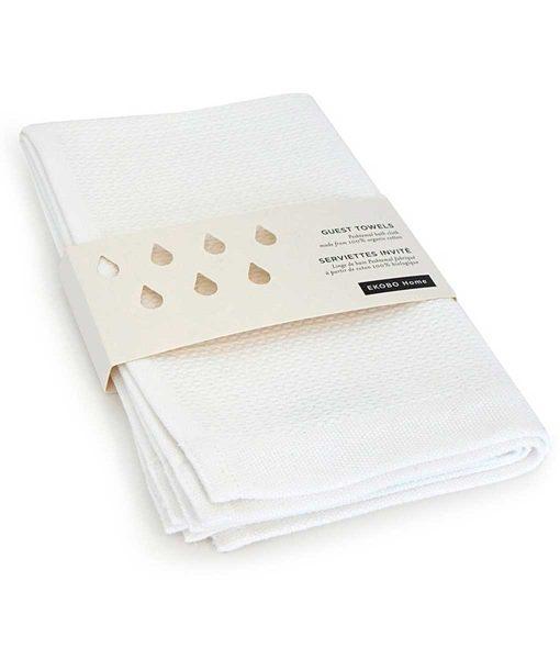 Gæstehåndklæde-i-økologisk-bomuld-by-Ekobo-hvid