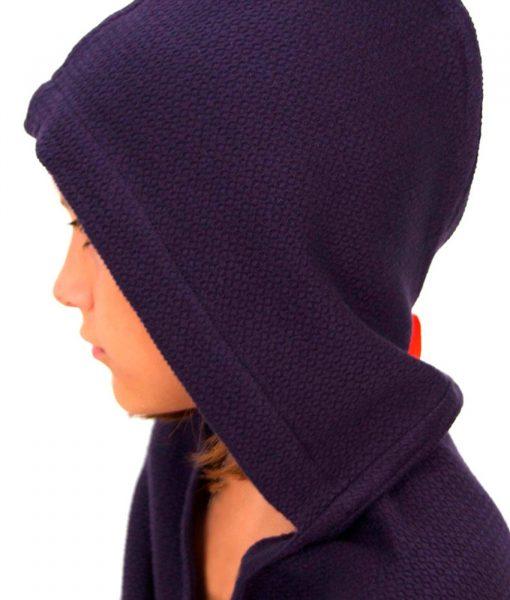 Perfekt håndklæde til børn - i mørkeblå