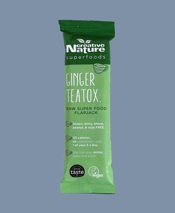 Creative Nature Ginger Teatox snackbar