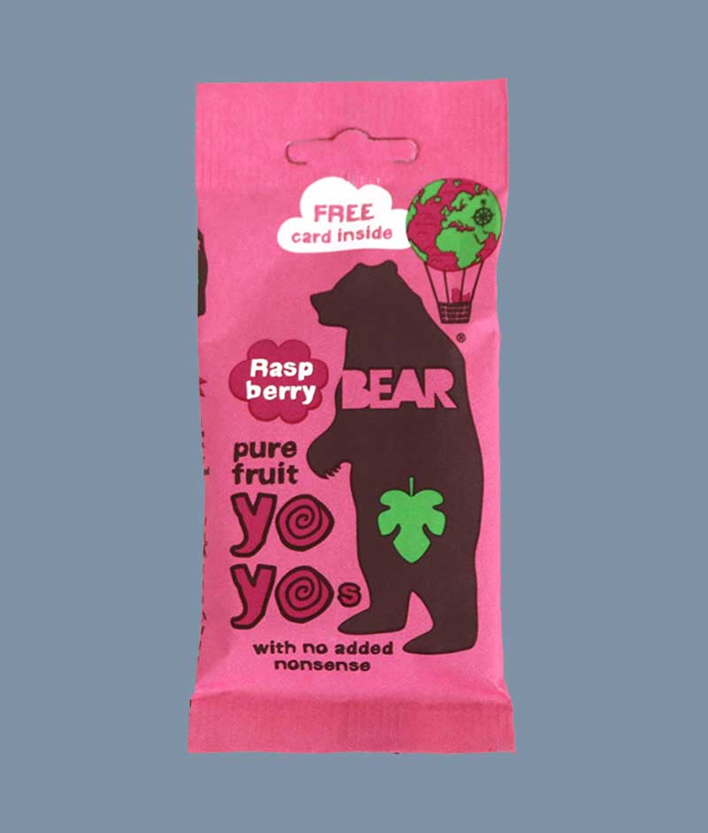 Bear Yo Yo strawberry - i Mambeno SnackBoxBear Yo Yo strawberry - i Mambeno SnackBox