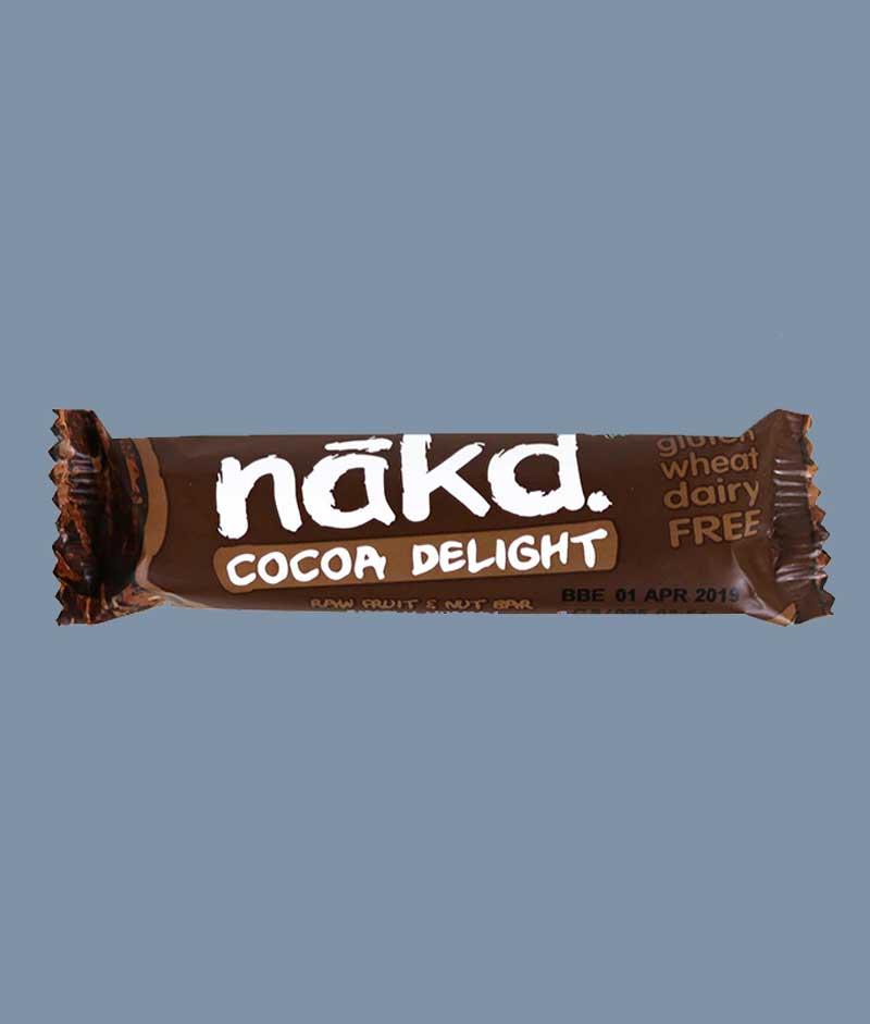 Nakd coca delight i Mambeno SnackBox