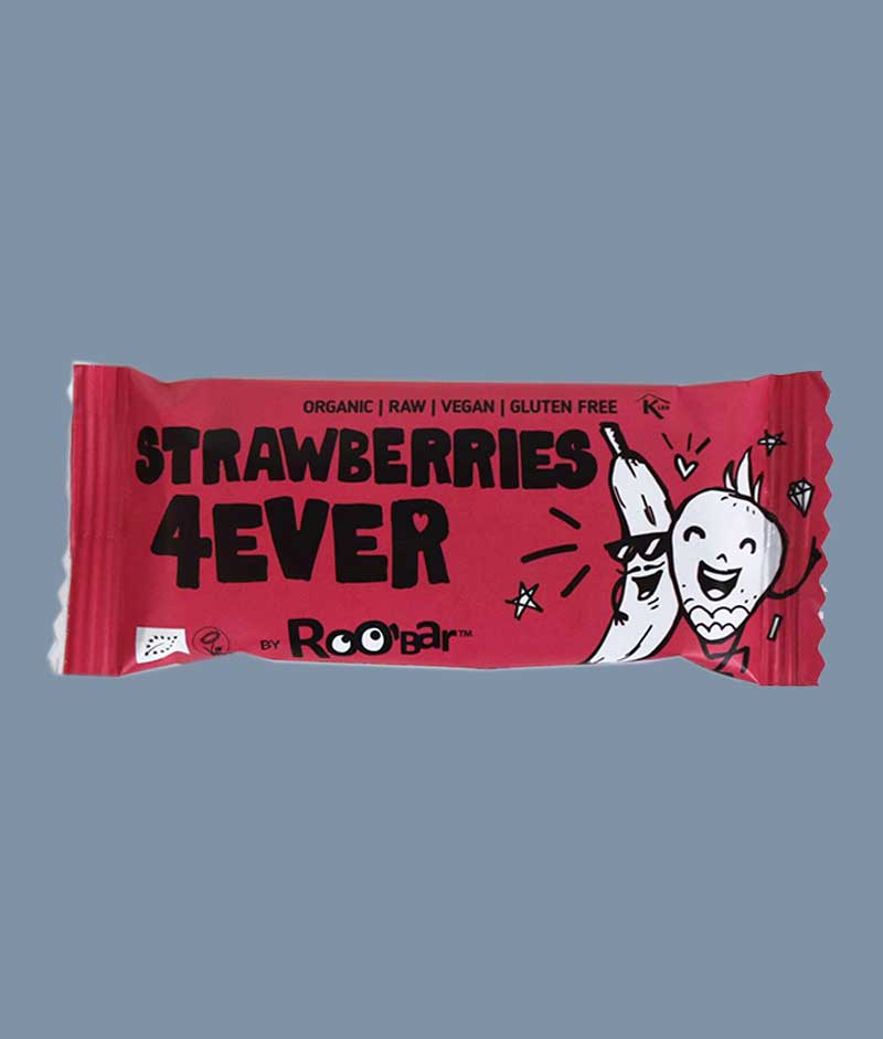 Roo'bar Strawberries 4everRoo'bar Strawberries 4ever - i Mambeno SnackBox