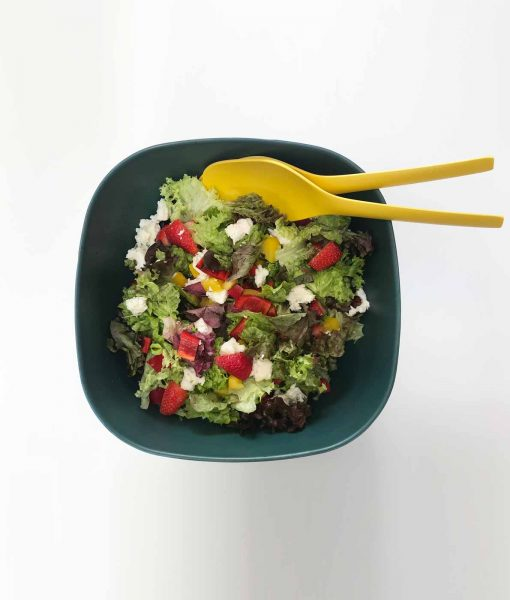 Super let salatskål i bambus fra Ekobo