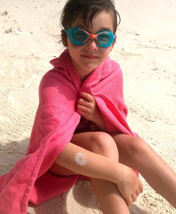Håndklæde til børn fra Ekobo - perfekt til stranden