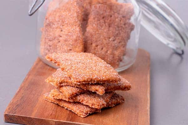 Kanelknækbrød en lækker snack