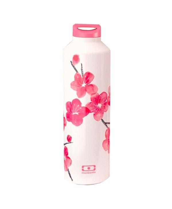 Termoflaske med fine blomster fra Monbento