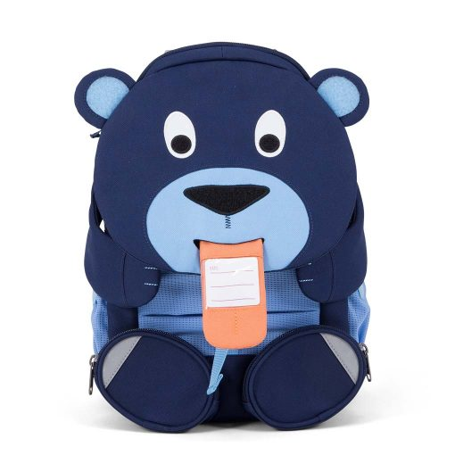 Affenzahn god rygsæk til børn med navneskilt Bela Bjørn