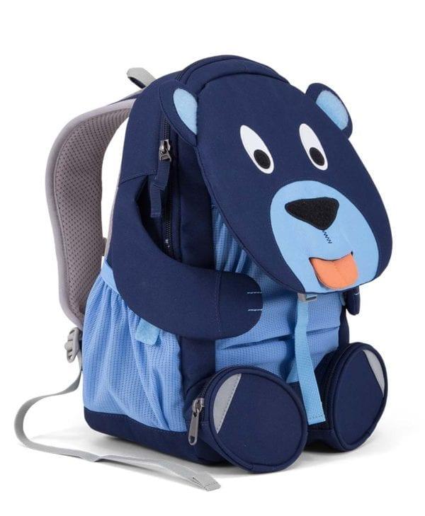 Affenzahn Bela Bjørn rygsæk til børn med god støtte
