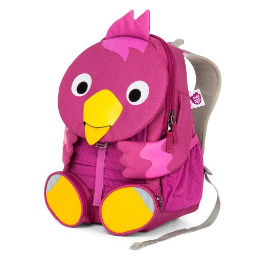 Affenzahn rygsæk til børn med gode stropper Viola Fugl